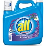 all Liquid Laundry Detergent, Exhilarating Lavender, 150 Fluid Ounces, 100 Loads