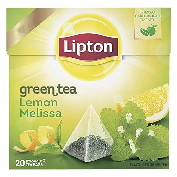Bolsas de té Lipton | Té verde - Limón