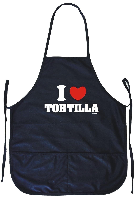 I Heart Love Tortillas料理エプロンポケット付き   B07666P226