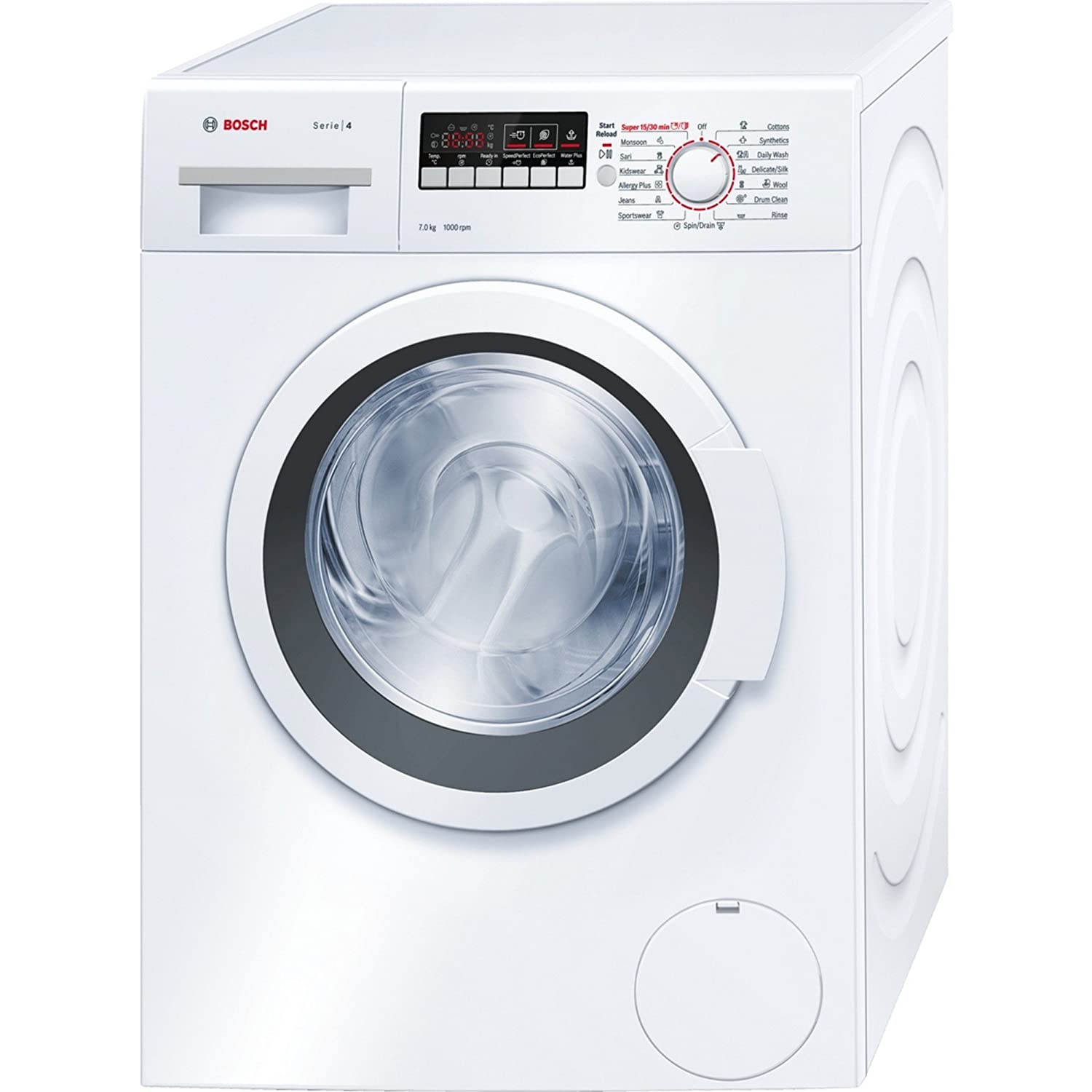 Bosch WAK20260IN Fully-automatic Front-loading Washing Machine (7 Kg,  White): Amazon.in: Home & Kitchen