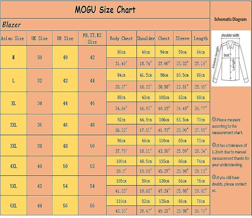 MOGU Uomo 10 Colori Slim Fit Casuale Monopetto Giacca