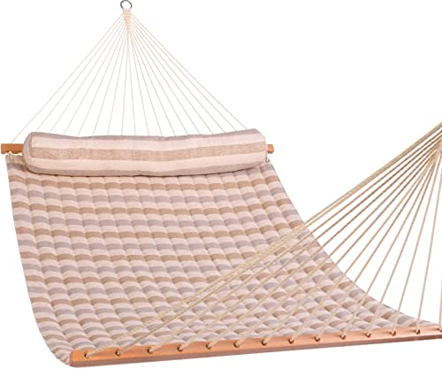 Lazy Daze Hammocks Large Sunbrella Quilted Hammock and Bolster Pillow Set