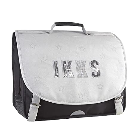 IKKS Lucy In The Sky Mochila Escolar, 41 cm, Gris (Silver)