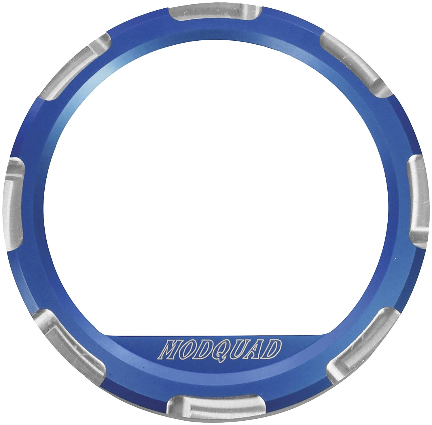 Modquad Blue Dash Gauge Bezel Polaris RZR TRTC3447
