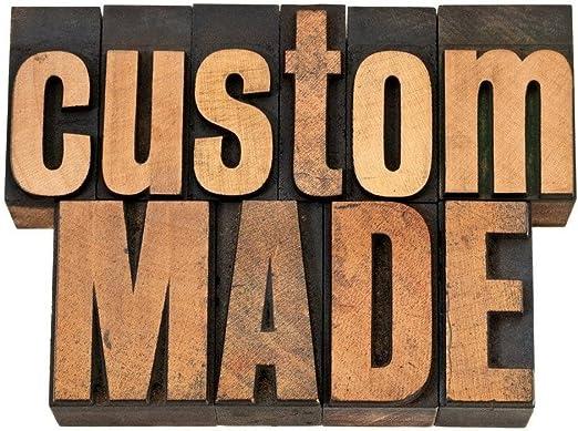 ChadMade Custom Made Preiseinsteller für Farbfelder   Hinzufügen Futter   Größe   Thema Custom Made Order