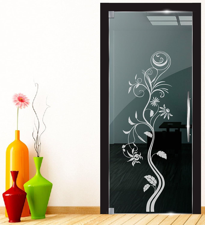 Dd Dotzler Design 2111 12 Fenster Milchglas Motiv Blume Modern