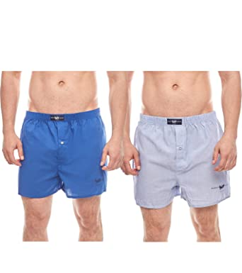 HARVEY MILLER POLO CLUB Paquete de 2 Web Boxer Shorts para Hombres ...