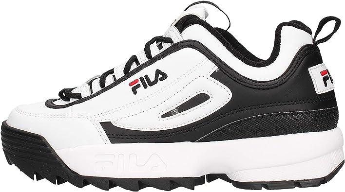 Fila Disrelé CB Low Sneaker Negra para Mujer 1010604-12S: Amazon.es: Zapatos y complementos