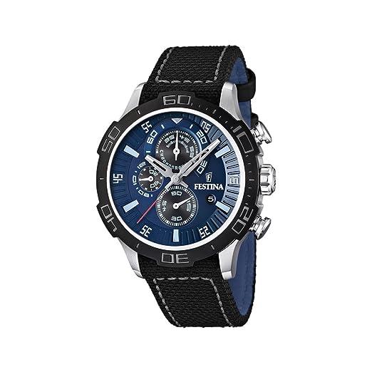 Festina F16566/2 - Reloj cronógrafo de cuarzo para hombre: Festina: Amazon.es: Relojes