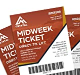 Crystal Mountain 3-Day Midweek Lift Ticket