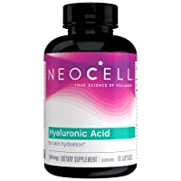 NeoCell Hyaluronic Acid, Daily Hydration for Skin Hydration & Suppleness, Gluten...