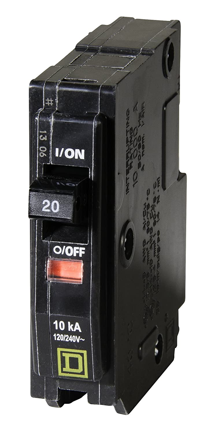 Your One Source QO120CP 20-Amp 1-Pole Plug-On Circuit Breaker ...