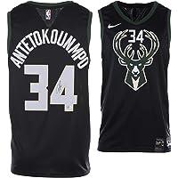 $424 » Giannis Antetokounmpo Milwaukee Bucks Autographed Black Nike Statement Swingman Jersey - Fanatics Authentic Certified