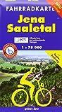 Fahrradkarte Jena-Saaletal<br>wasser- und reißfest: Mit Tourentipps. Offizielle Karte des ADFC-Landesverbandes Thüringen. (Fahrradkarten)
