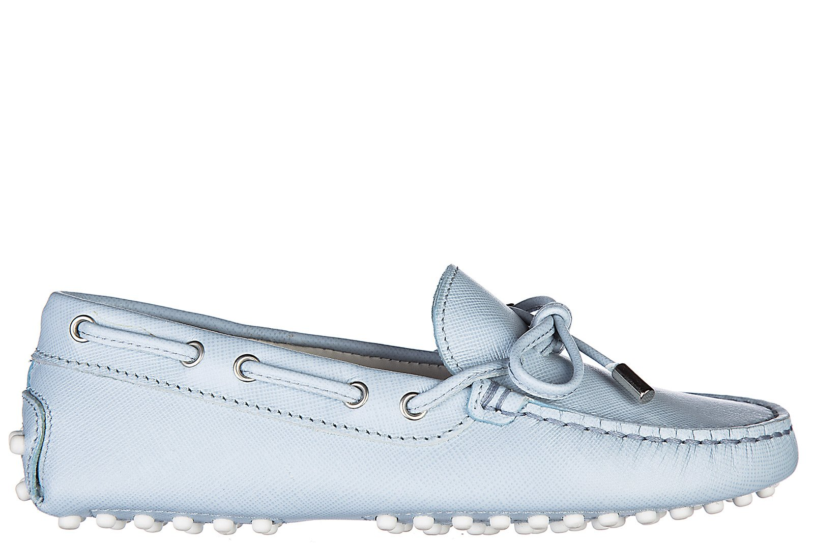 Tod's Boys Shoes Baby Child Loafers Moccassins Leather laccetto occhielli gommini Junior Blu US Size 12 UXC00G050307Y9U0