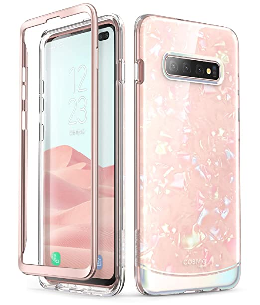 i-Blason Cosmo Series Designed for Galaxy S10 Plus Case Stylish Full-Body  Protective Bumper Case Without Built-in Screen Protector for Samsung Galaxy