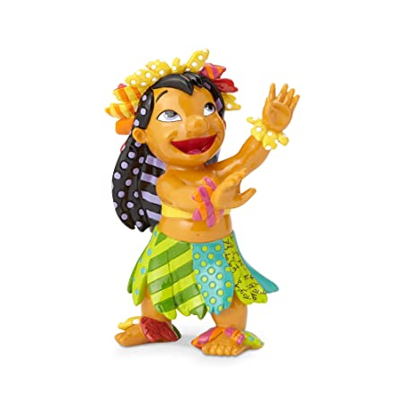 Enesco Lilo from Disney by Britto Line Figurine 8.27 Inches Multicolor