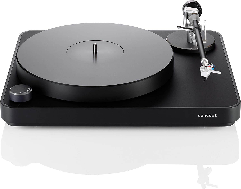 Amazon.com: clearaudio concepto Negro Turntable con concepto ...