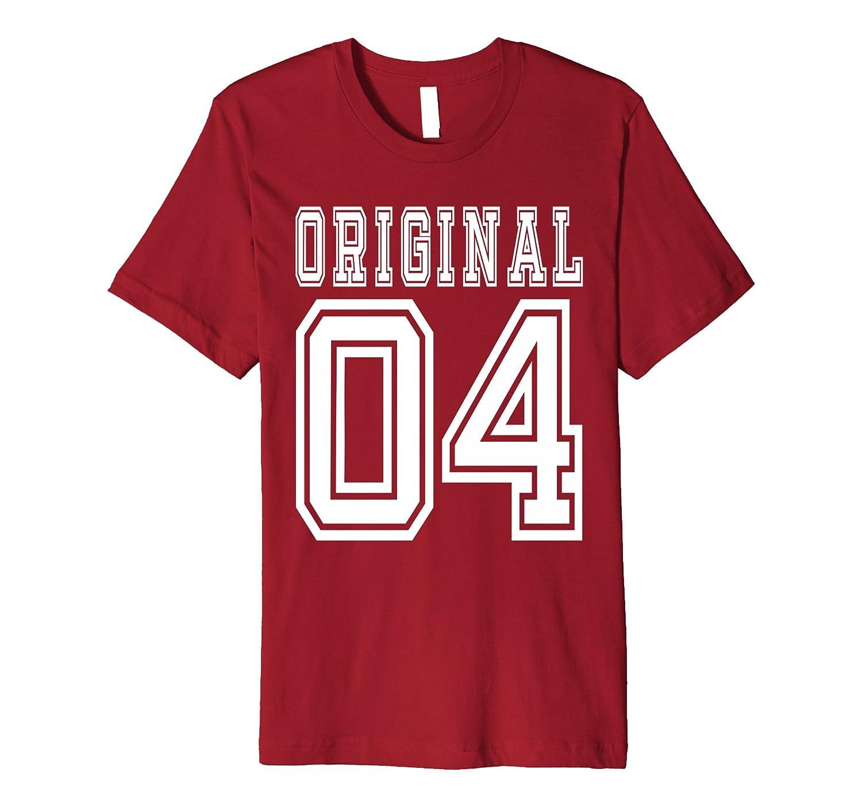 2004 T Shirt 13th Birthday Gift 13 Year Old Boy Girl Bday F TH