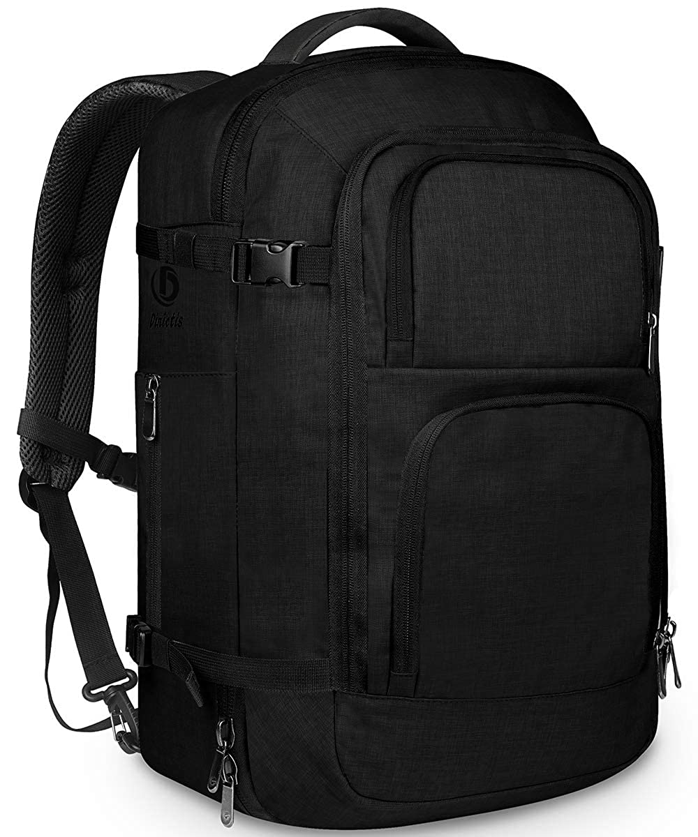 Dinictis 40L Carry on Flight Approved Travel Backpack, Weekender Bag
