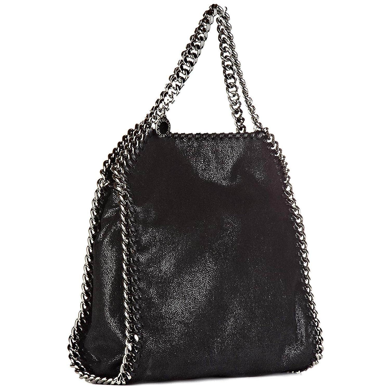 b24e61ad75b Stella Mccartney sac à main femme mini falabella shaggy deer noir   Amazon.fr  Chaussures et Sacs