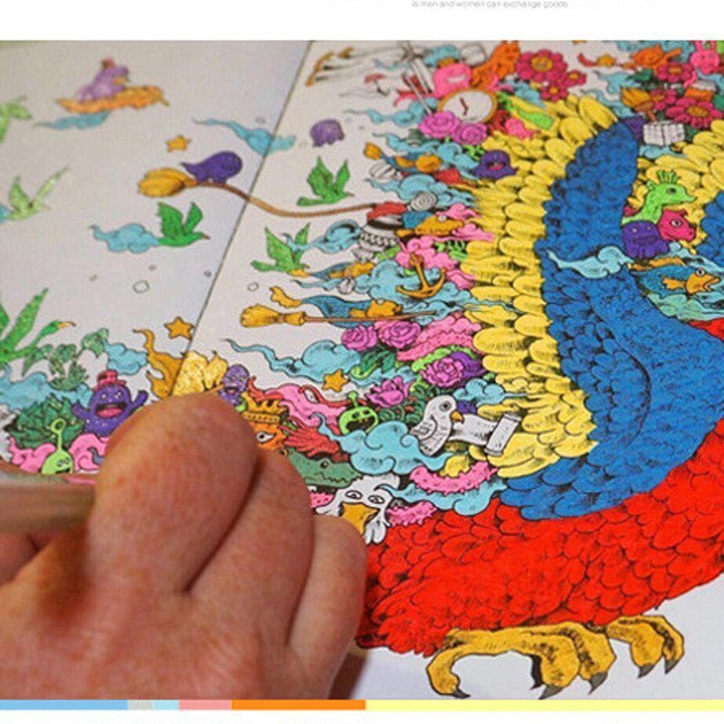 2 Pcs Pastel Glitter Colored Gel Pen Drawing Writing Marker Pen School Office by Corgy (Image #5)
