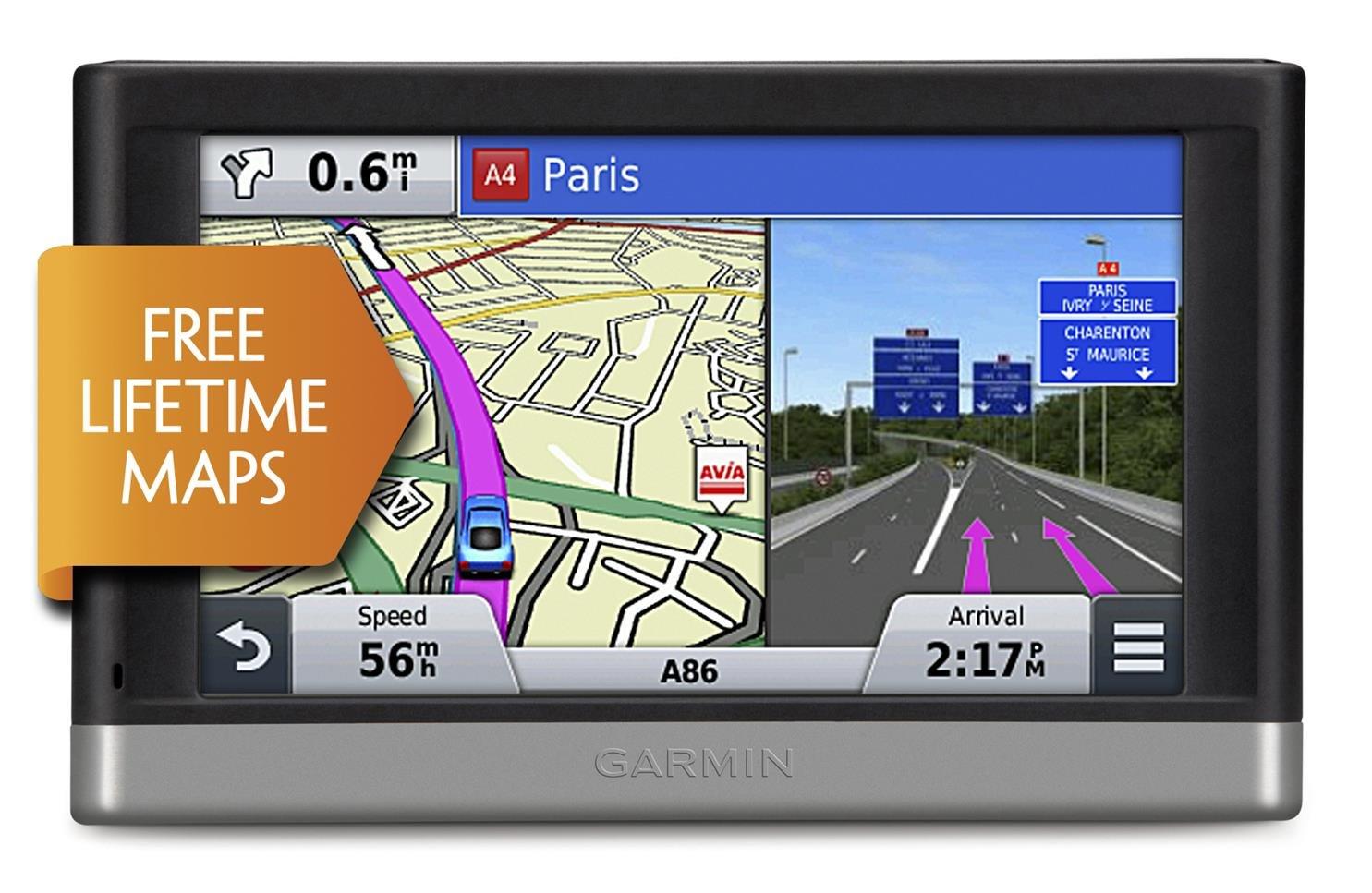 Garmin Nuvi LM Inch Satellite Navigation With UK And Western - Garmin maps for united kingdom
