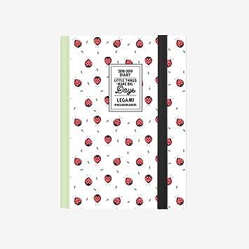 Legami AG160410 - Agenda foto 16 meses semanal con cuaderno ...