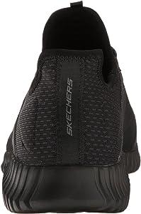 Skechers Men 52640 Slip on Trainers, Black (Black), 7 UK (41 EU ...