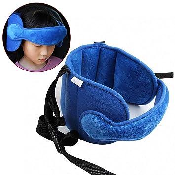 Autositz Kopfstütze Gurtband Band Schlafen Kopfhalterung Einstellbare Kinder Neu