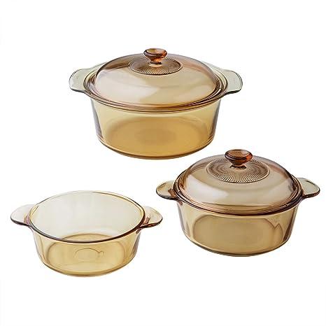 Amazon.com: Visiones 5-pc Lote de horno holandés: Kitchen ...