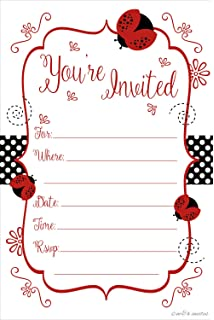Amazon Tea Party Invitations
