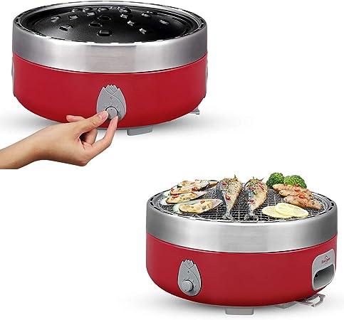 Amazon Com Freshore Portable Smokeless Charcoal Bbq Grill