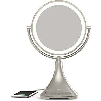 Amazon Com Ihome All In One 7x Magnify 9 Quot 2 Sided Led