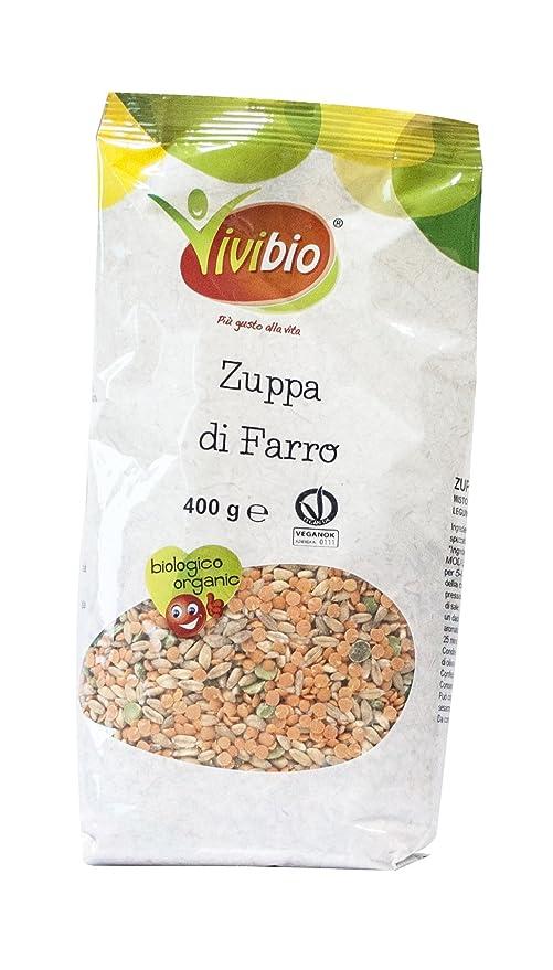 Sopa de espelta 400 g BIO: Amazon.es: Alimentación y bebidas
