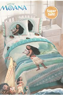 Disney Moana Twin Bedding Set ~ Sheet Set U0026 Comforter