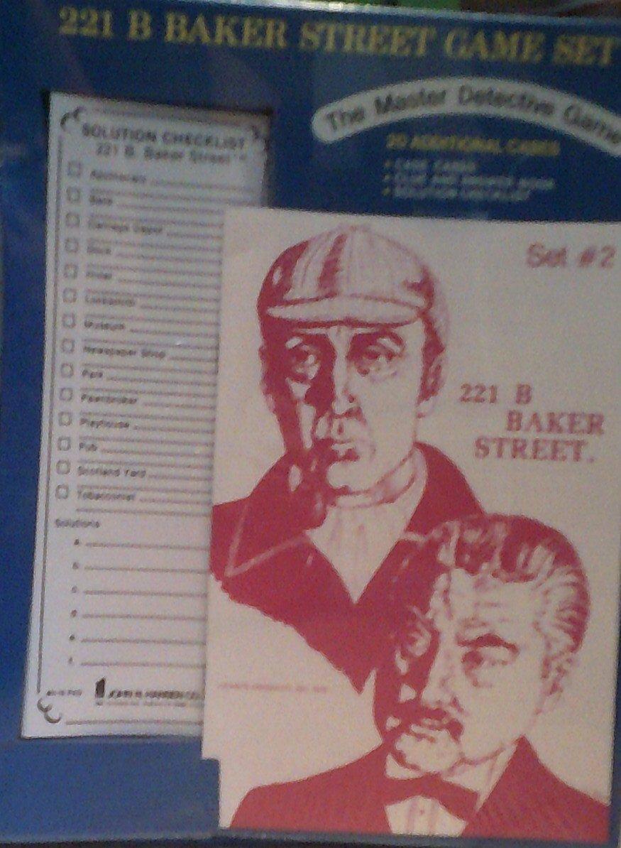 221 B Baker Street Game Set - Set #2 - 20 Additional Cases