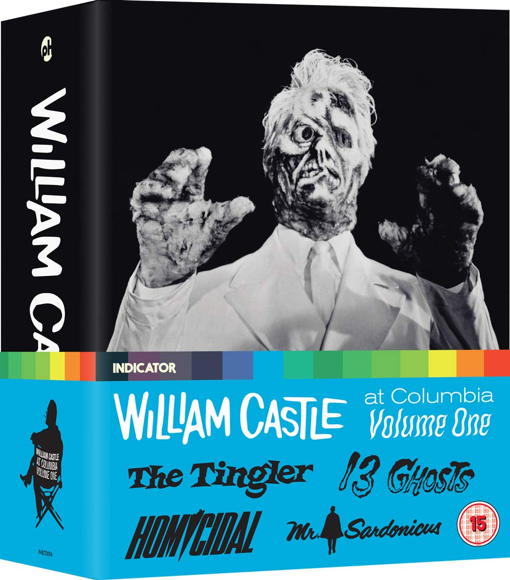 Blu-ray : William Castle At Columbia Vol 1 (Limited Edition, United Kingdom - Import, NTSC Region 0)