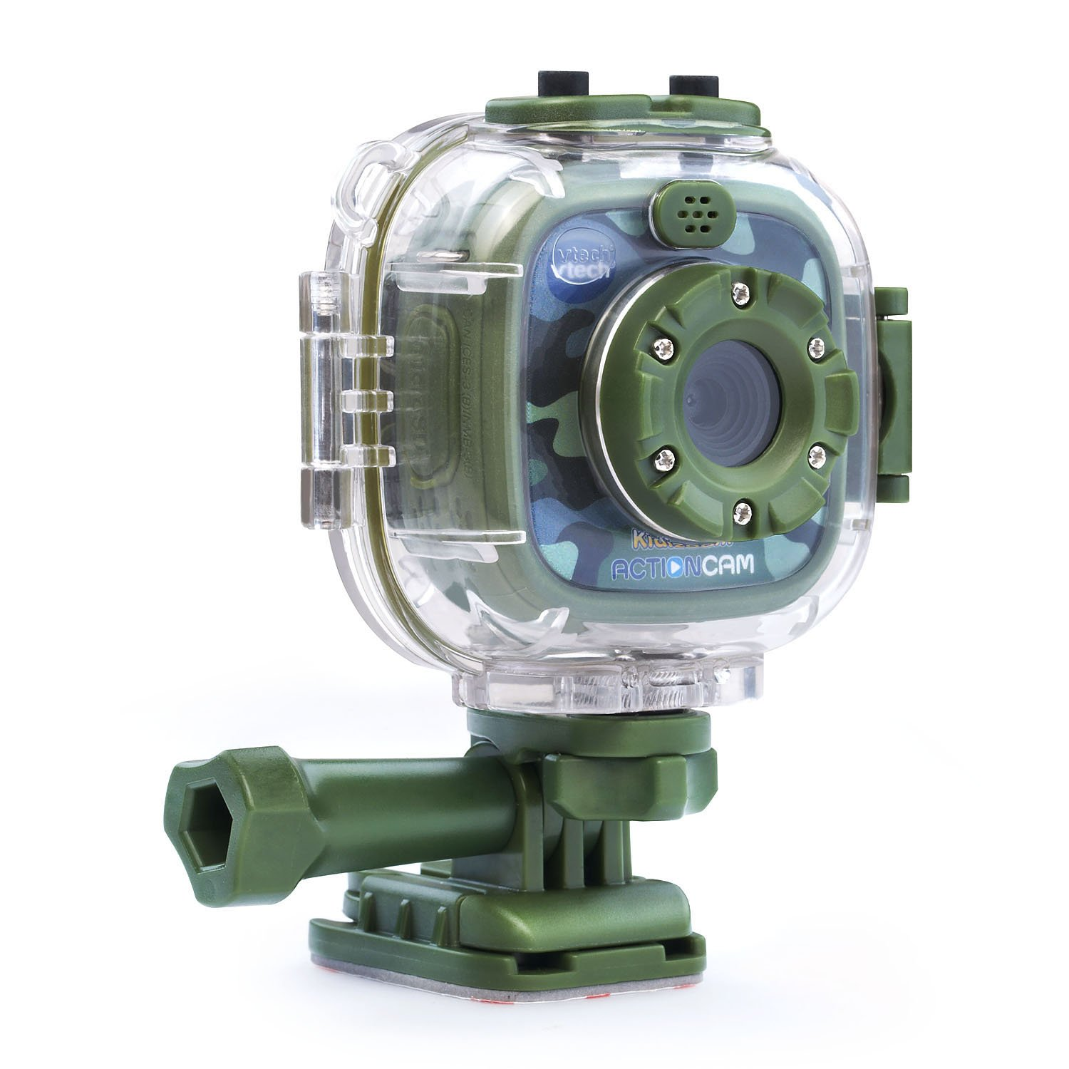VTech Kidizoom Action Cam Amazon Exclusive, Camouflage by VTech
