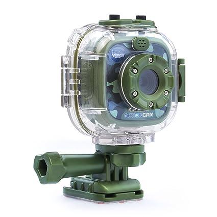VTech Kidizoom Action Cam Amazon Exclusive, Camouflage 80-170770