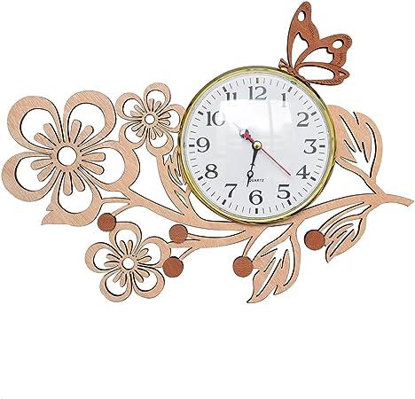 Amazon.com: Giftgarden Reloj de pared con forma de árbol ...
