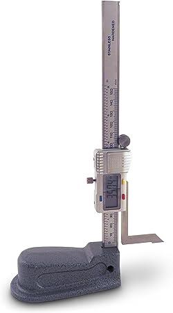 "Digital Electronic Height Gauge Gage Metric Inch 0-150mm//6/"""