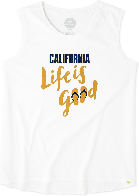 Life is Good Womens Go-to Crew Lig Wordmark The Life is good Company