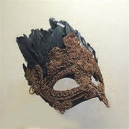 Fiesta de Navidad Hermosa Venecia Máscara máscaras masculinas exageradas Masquerade halloween Máscaras extrañas el párrafo B