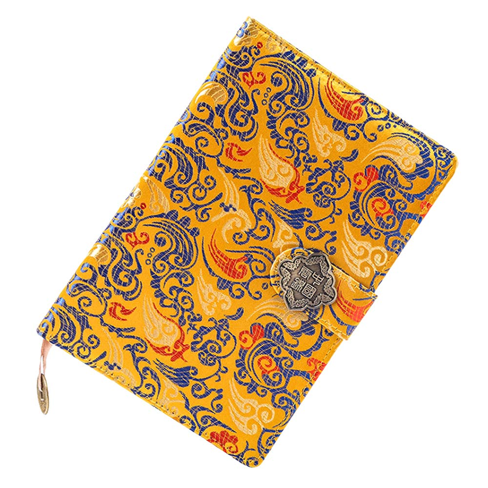 Kennedy Exquisite Notebook Chinese Yun Brocade Notebook Silk Hardcover Diary (Han Palace)