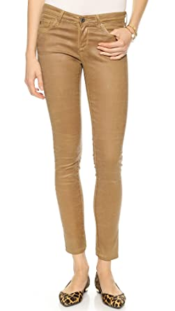 AG Women's The Legging Ankle Super Skinny Leatherette Jeans at ...
