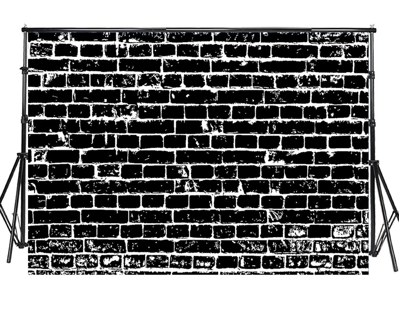 Sensfun レンガ 壁 写真 背景 ビンテージ レンガ 床 壁 写真 背景 結婚式 ベビーシャワー 新生児 誕生日パーティー クリスマス ハロウィン ポートレート 写真ブース バナー 写真 スタジオ 小道具 7x5ft WP030 B07LD4KDZ3