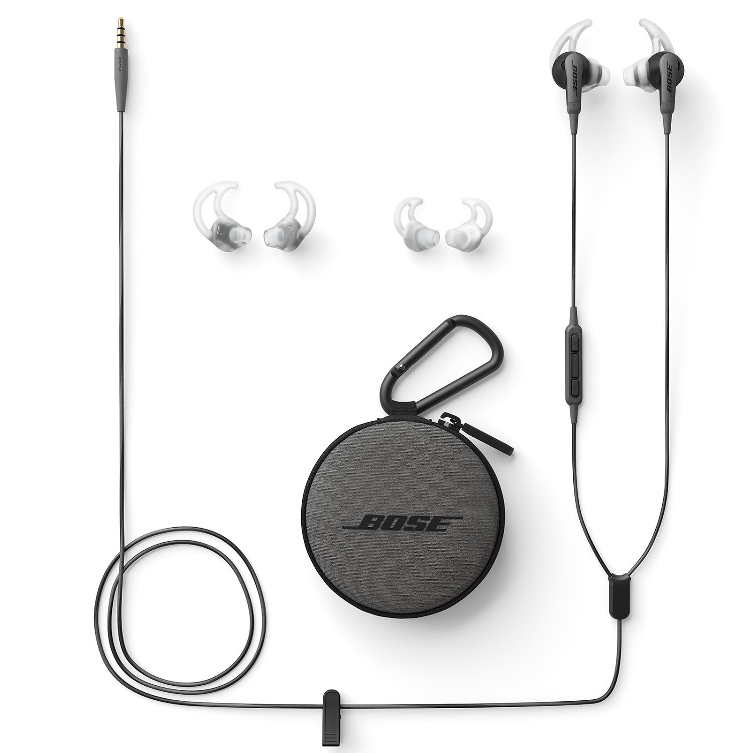Bose SoundSport in-ear headphones for Samsung and Android devices, Charcoal by Bose (Image #4)