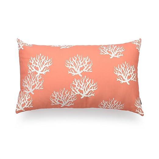 hofdeco manta decorativa lumbar funda de almohada Coral ...