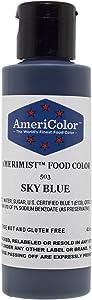 AmeriColor AmeriMist Sky Blue Airbrush Food Color, 4.5 oz